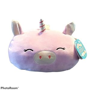 Squishmallows Astrid, stackable unicorn